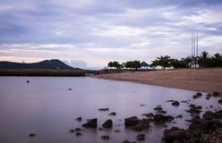 Παραλία βράχου (Sapan Hin), Phuket Στοκ εικόνα με δικαίωμα ελεύθερης χρήσης