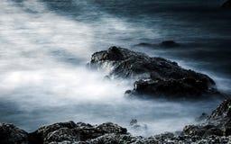 Παραλία βράχων στοκ εικόνες