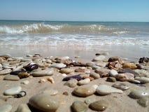 Παραλία βράχων Στοκ εικόνες με δικαίωμα ελεύθερης χρήσης