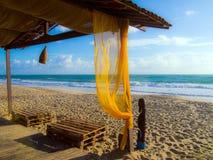 Παραλία Βραζιλία κυματωγών Στοκ εικόνα με δικαίωμα ελεύθερης χρήσης