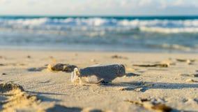 παραλία βρώμικη Στοκ φωτογραφία με δικαίωμα ελεύθερης χρήσης