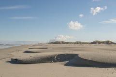 Παραλία Βόρεια Θαλασσών του νησιού Terschelling στις Κάτω Χώρες στοκ εικόνες
