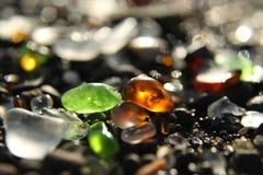 Παραλία γυαλιού Στοκ εικόνες με δικαίωμα ελεύθερης χρήσης