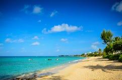 Παραλία επτά μιλι'ου - Γκραν Κέιμαν στοκ φωτογραφία