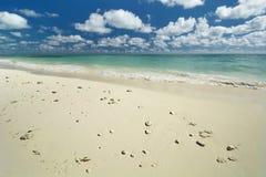 Παραλία ελεύθερων λιμένων, μεγάλο νησί Bahama Στοκ φωτογραφία με δικαίωμα ελεύθερης χρήσης