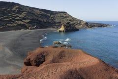 παραλία ηφαιστειακή στοκ φωτογραφία με δικαίωμα ελεύθερης χρήσης