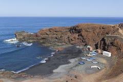 παραλία ηφαιστειακή στοκ φωτογραφίες με δικαίωμα ελεύθερης χρήσης
