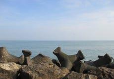 Παραλία θάλασσας Στοκ Εικόνες