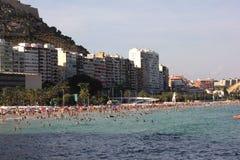 Παραλία Ισπανία Αλικάντε Στοκ Εικόνα