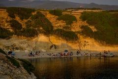 παραλία Ιταλία Σαρδηνία Στοκ Εικόνες