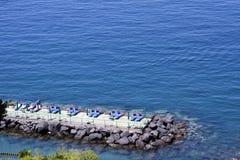 Παραλία Ιταλία Σορέντο Στοκ φωτογραφίες με δικαίωμα ελεύθερης χρήσης