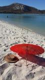 Παραλία κάουμποϋ Στοκ Φωτογραφία