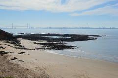 Παραλία και ακτή Στοκ Εικόνες