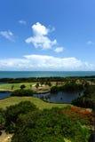 Παραλία και γήπεδο του γκολφ Varadero Στοκ φωτογραφία με δικαίωμα ελεύθερης χρήσης