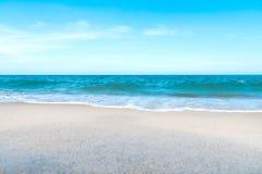 Παραλία και θάλασσα στην Ταϊλάνδη Στοκ εικόνες με δικαίωμα ελεύθερης χρήσης