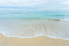 Παραλία και θάλασσα Στοκ Εικόνες