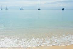 Παραλία και θάλασσα Στοκ Εικόνα