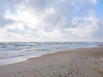Παραλία και θάλασσα Στοκ εικόνα με δικαίωμα ελεύθερης χρήσης