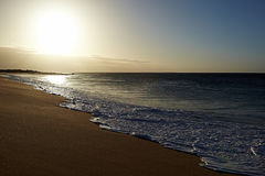 Παραλία και ωκεανός στοκ φωτογραφίες