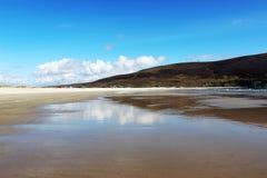 Παραλία καρίνων, νησί Achill στοκ φωτογραφία