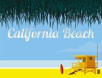 Παραλία Καλιφόρνιας Στοκ Φωτογραφία