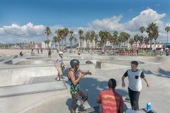 παραλία Καλιφόρνια Βενετ Στοκ εικόνα με δικαίωμα ελεύθερης χρήσης