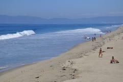 παραλία Καλιφόρνια Μανχάττ&a Στοκ φωτογραφία με δικαίωμα ελεύθερης χρήσης