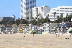 Παραλία Καλιφόρνια της Σάντα Μόνικα Στοκ εικόνα με δικαίωμα ελεύθερης χρήσης