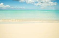 παραλία κενή Στοκ Εικόνα