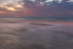 Παραλία κρητιδογραφιών Στοκ φωτογραφία με δικαίωμα ελεύθερης χρήσης