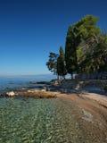 παραλία Κροατία Στοκ εικόνες με δικαίωμα ελεύθερης χρήσης