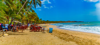 παραλία Κόστα Ρίκα Στοκ εικόνα με δικαίωμα ελεύθερης χρήσης