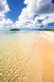 Παραλία κόλπων ποδιών ποδιών Στοκ Εικόνες