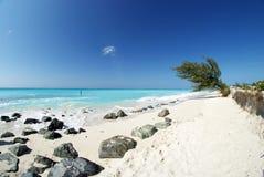 Παραλία 6 κόλπων της Grace στοκ φωτογραφία