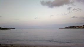 Παραλία κόλπων Ghadira Στοκ εικόνα με δικαίωμα ελεύθερης χρήσης