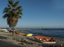 Παραλία μαΐστρου στοκ φωτογραφία