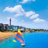 Παραλία Μασαχουσέτη Provincetown βακαλάων ακρωτηρίων Στοκ Φωτογραφία