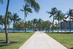 παραλία Μαϊάμι στοκ φωτογραφία