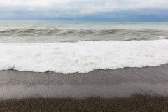 Παραλία Μαύρης Θάλασσας, ρωσικά, Sochi Στοκ Εικόνες