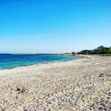 Παραλία Μαύρης Θάλασσας Στοκ Φωτογραφία