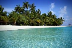 παραλία Μαλβίδες Στοκ εικόνες με δικαίωμα ελεύθερης χρήσης