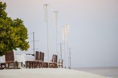 παραλία Μαλβίδες Στοκ Εικόνα