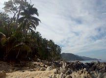 παραλία Μεξικό Στοκ εικόνες με δικαίωμα ελεύθερης χρήσης