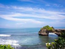 Παραλία μερών Tanah, Μπαλί, Ινδονησία Στοκ φωτογραφία με δικαίωμα ελεύθερης χρήσης