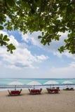 Παραλία Μπαλί, Ινδονησία του Μπαλί Στοκ φωτογραφία με δικαίωμα ελεύθερης χρήσης