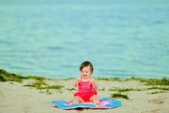 παραλία μωρών στοκ φωτογραφία