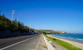 Παραλία ΝΕ Mui - Βιετνάμ Στοκ φωτογραφίες με δικαίωμα ελεύθερης χρήσης