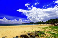 Παραλία ΝΕ Mui. Στοκ εικόνα με δικαίωμα ελεύθερης χρήσης