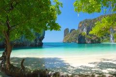 Παραλία & νησί, Ταϊλάνδη Στοκ Φωτογραφία