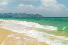 Παραλία νησιών Poda, Krabi Ταϊλάνδη Στοκ Φωτογραφίες